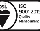Sentinel Manufacturing are proud to announce that we have achieved the latest ISO 9001:2015 Quality Management System!