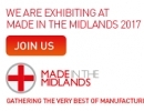 Sentinel Manufacturing exhibiting at Made in the Midlands 2017